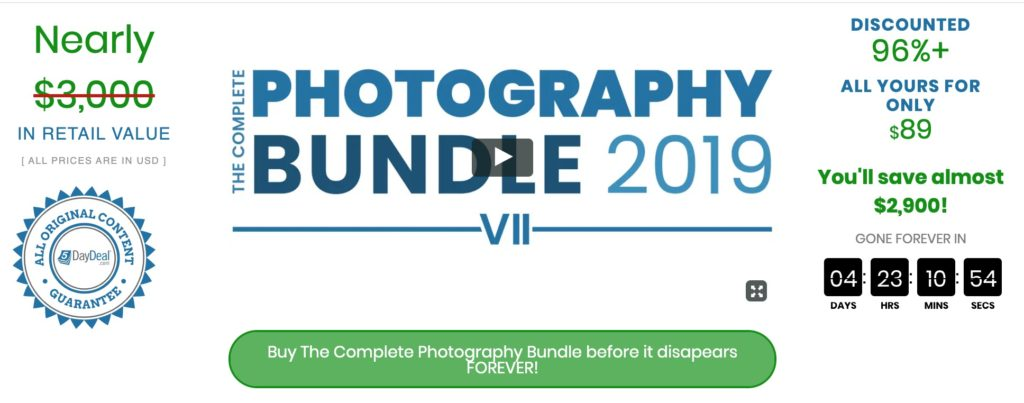 Complete Photography Bundle 2019