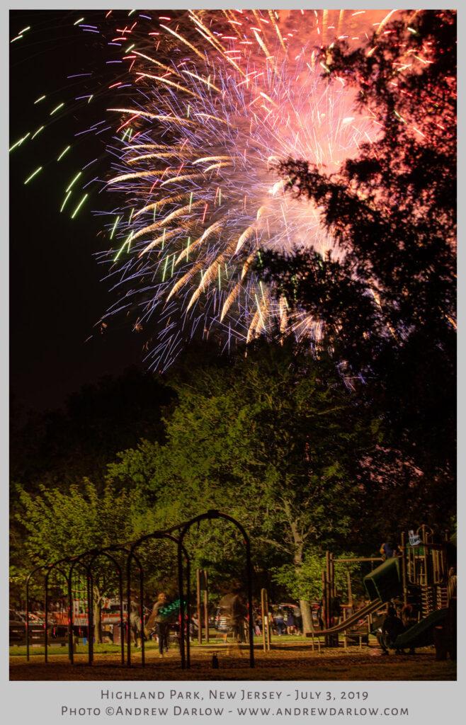 Fireworks Highland Park, NJ